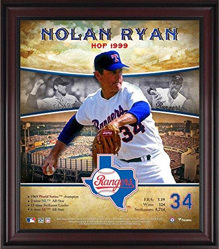 Nolan Ryan Texas Rangers Framed 15