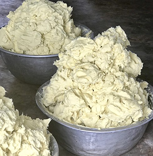 Large Product Image of Unrefined Shea Butter by Better Shea Butter - African, Raw, Pure - Use Alone or in DIY Body Butters, Lotions, Soap, Eczema & Stretch Marks Products, Lotion Bars, Lip Balms and More! - 1 lb (16 oz)