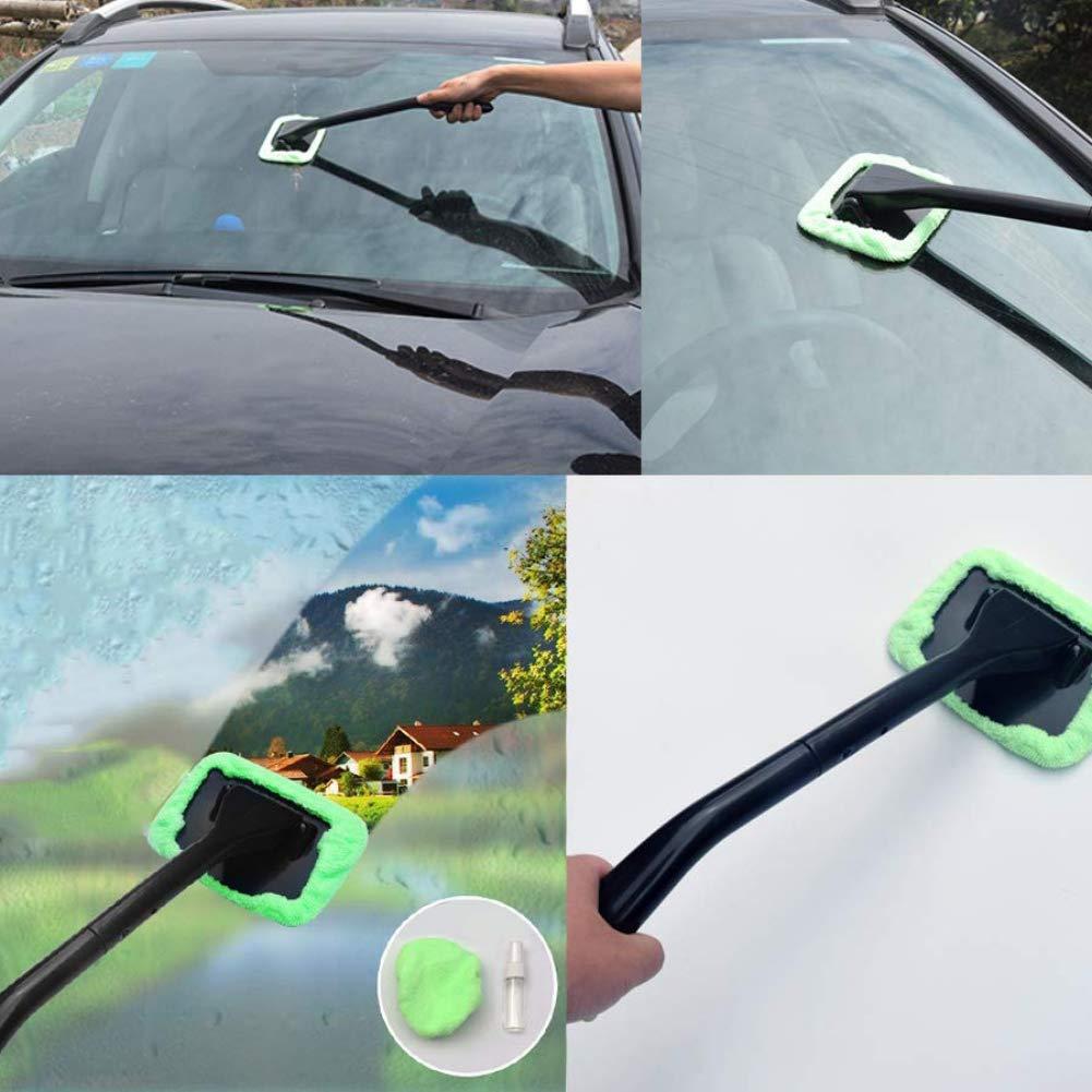 MOCRIS Tergicristallo automatico Tergicristallo per auto con spazzola per vetri con manico lungo lavabile