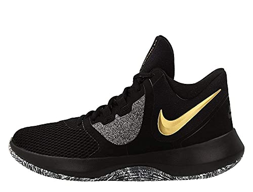 7b779e36efa Nike Men s Air Precision II Black Metallic Gold-White Basketball Shoes  (AA7069-090)  Buy Online at Low Prices in India - Amazon.in