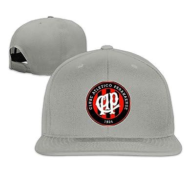 HIITOOP atlético Paranaense Gorra de béisbol Hip-Hop Estilo - Gris -: Amazon.es: Ropa y accesorios