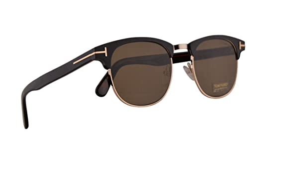 f7a62f9e0e Amazon.com  Tom Ford FT0623 Laurent-02 Sunglasses Matte Black w ...