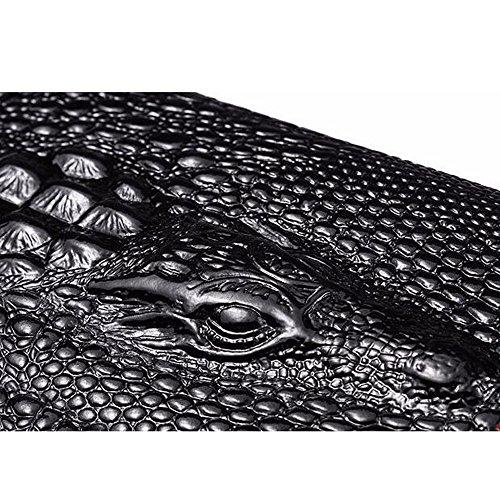 Portefeuille Crocodile F Première Modèle Cuir En Long Mesdames Portefeuille Couche Cuir 30 aqAcYBw