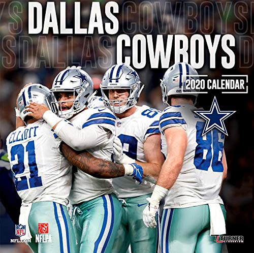 Dallas Cowboys 2020 Schedule.Dallas Cowboys 2020 12x12 Team Wall Calendar Lang