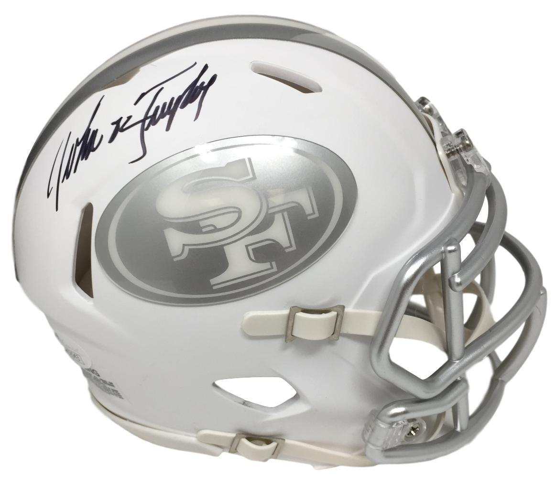 Amazon.com  John Taylor Signed San Francisco 49ers Mini Ice Speed Helmet JSA  ITP  Sports Collectibles b3e7b882b