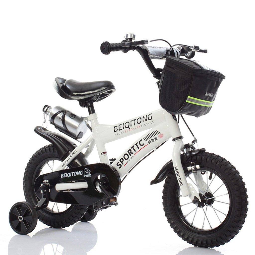 CSQ 赤ちゃんの自転車、少年の自転車の少女の自転車の自転車自転車の自転車の自転車の車輪の直径30-42CM 子供用自転車 (色 : 白, サイズ さいず : 88CM) B07DXG7CR5 88CM|白 白 88CM