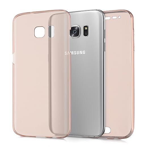 48 opinioni per kwmobile Cover trasparente per Samsung Galaxy S7 edge Custodia Full Body in