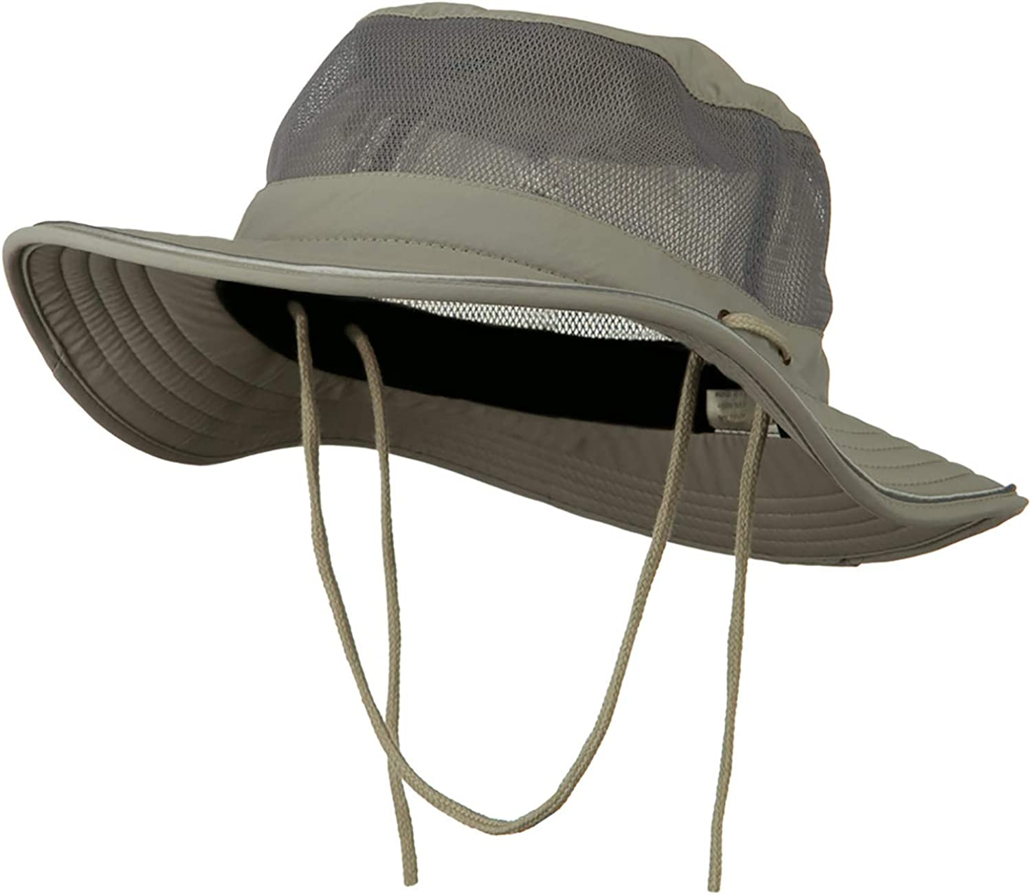 e4Hats Big Size Talson UV Mesh Bucket Hat at  Women's Clothing store