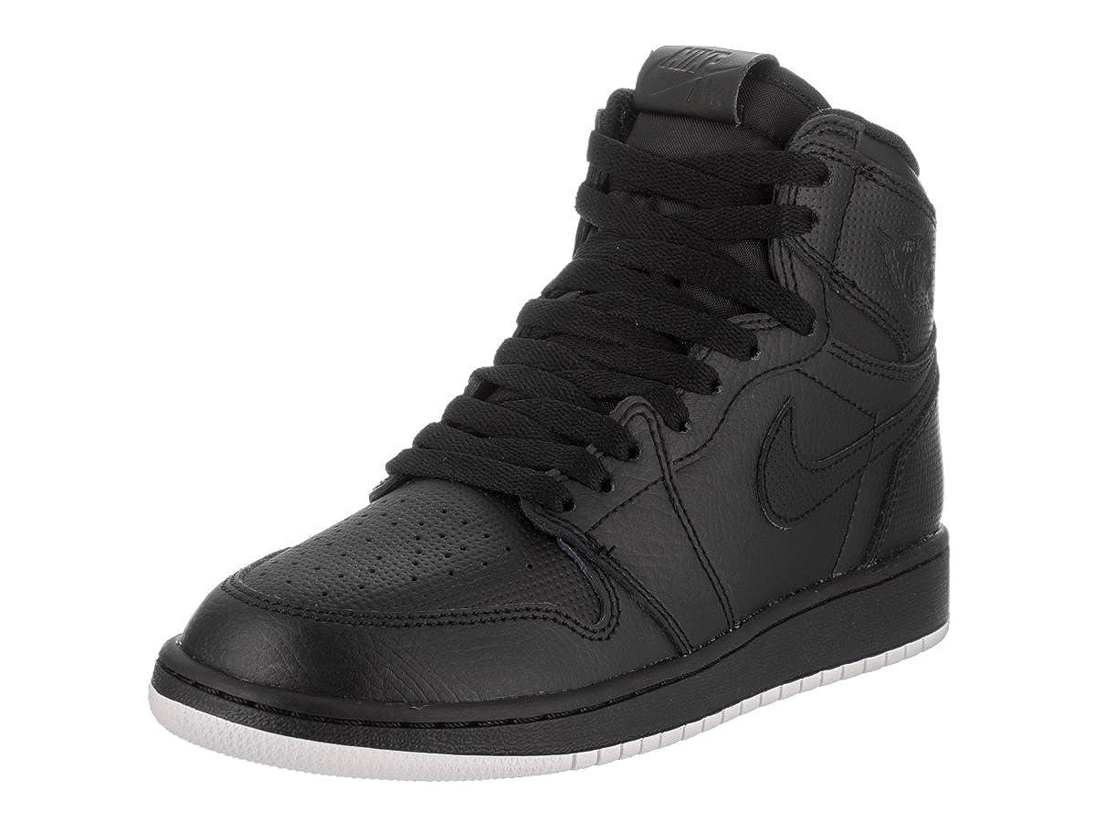 Black White Black Nike - AIR JORDAN 1 MID