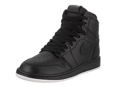 premium selection b6550 60e24 Jordan Air 1 Retro OG (Kids) Black
