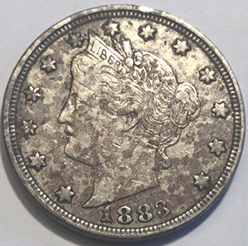 1883 Liberty V No Cents Nickel Very Fine