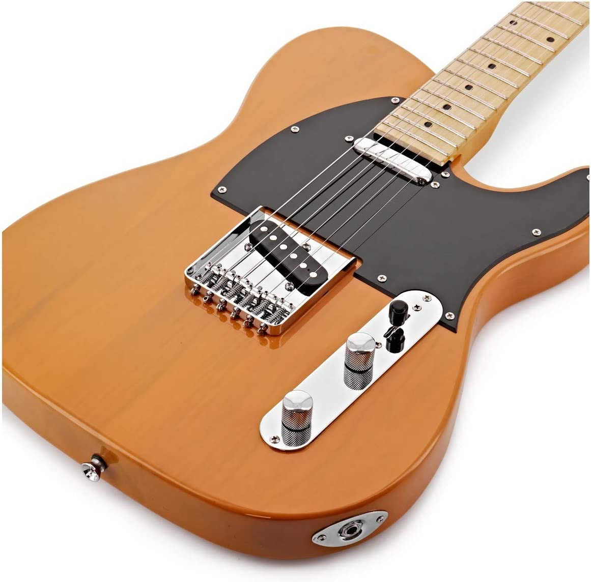 Paquete de Guitarra Electrica Knoxville + Amplificador Butterscotch: Amazon.es: Instrumentos musicales