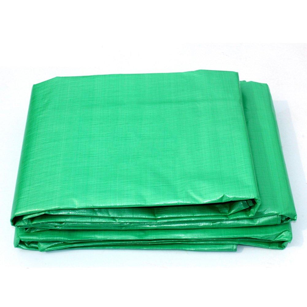 ZEMIN オーニング サンシェード ターポリン 日焼け止め 防水 シート テント ルーフ 防風 厚い 防寒対策 ポリエステル、 緑、 180G/8サイズあり (色 : 緑, サイズ さいず : 4X5M) B07CZJJ2GJ 4X5M|緑 緑 4X5M