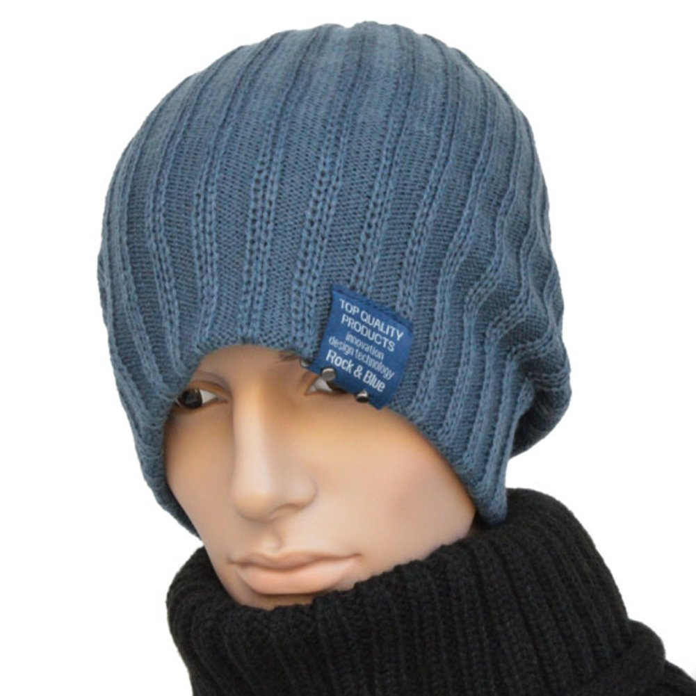 PLMWQAVDFN Men and Cap Outdoor Hats Lady Hip-hop Wool Hats Knitted Hat Cowl-Neck Pullovers Street Dance Cap
