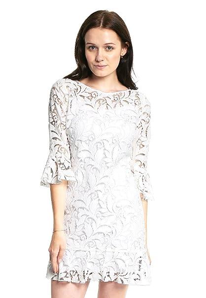 Zapatos para un vestido blanco de encaje