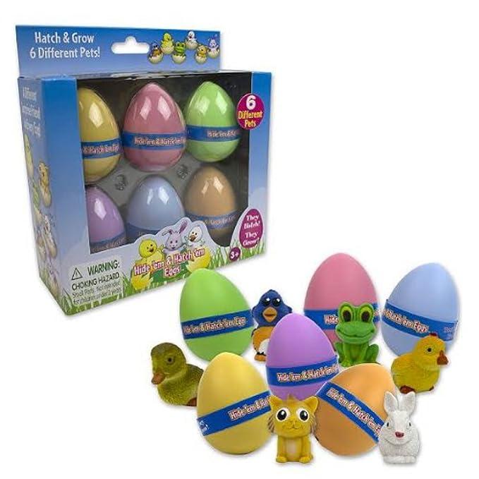 Amazon.com: Huevos de pascua, huevos de ocultar y encontrar ...