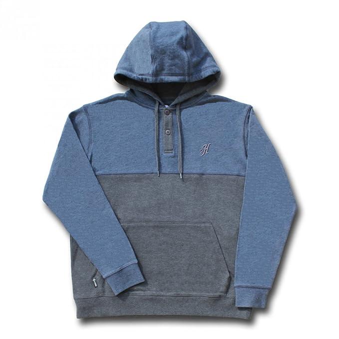 Amazon.com: hooey marca Color Azul Marino/Gris Bloqueado con ...