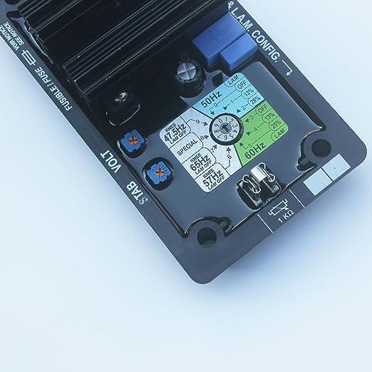 Amazon.com: Kipa AVR R250 Volt Regulador de voltaje ...