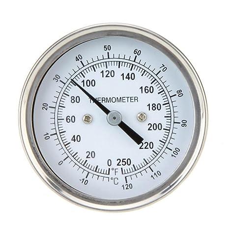 Grill Thermometer für BBQ Räucherofen Smoker Mit Dual-Gage