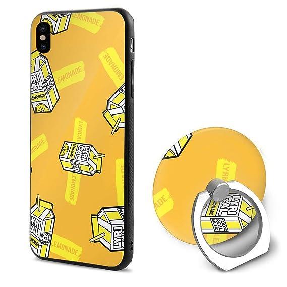 the latest b13a3 97cdd Amazon.com: Lyrical Lemonade iPhone X Case Soft TPU Protective Case ...