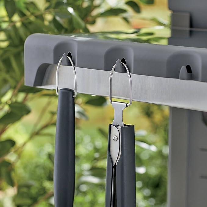 Amazon.com: Weber 6625 Original 2-Piece Acero Inoxidable ...