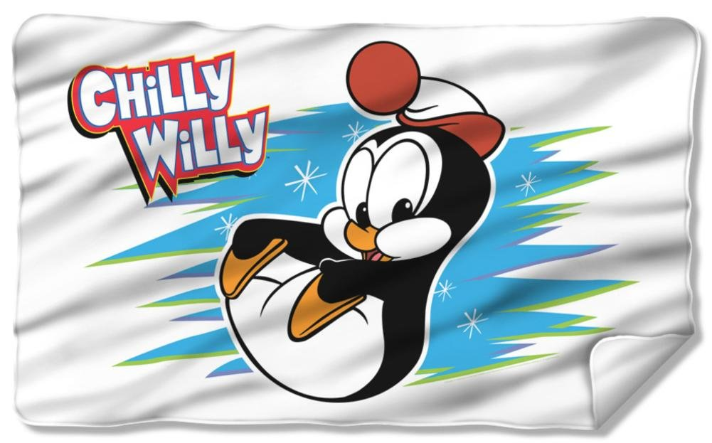 Chilly Willy - Chilly Fleece Blanket 57 x 35in
