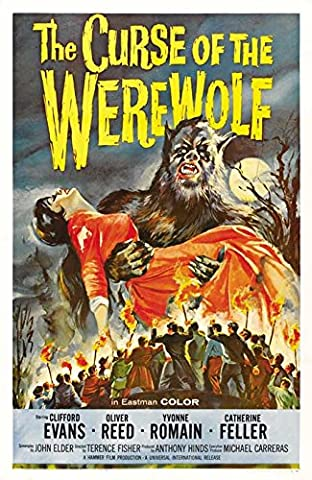 Old Tin Sign Curse Of Werewolf Classic Vintage Movie Poster MADE IN THE USA (Classic Scary Movie Posters)