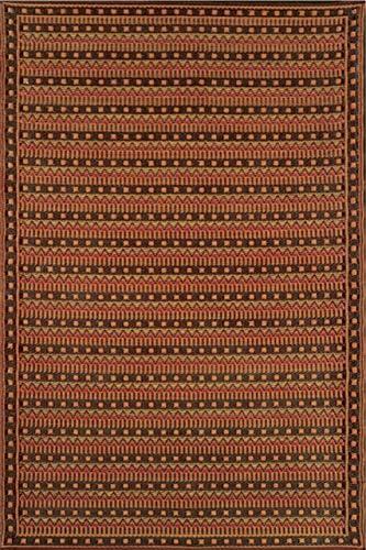 Mad Mats Uber Turk Indoor Outdoor Floor Mat, 6 by 9-Feet, Warm Brown
