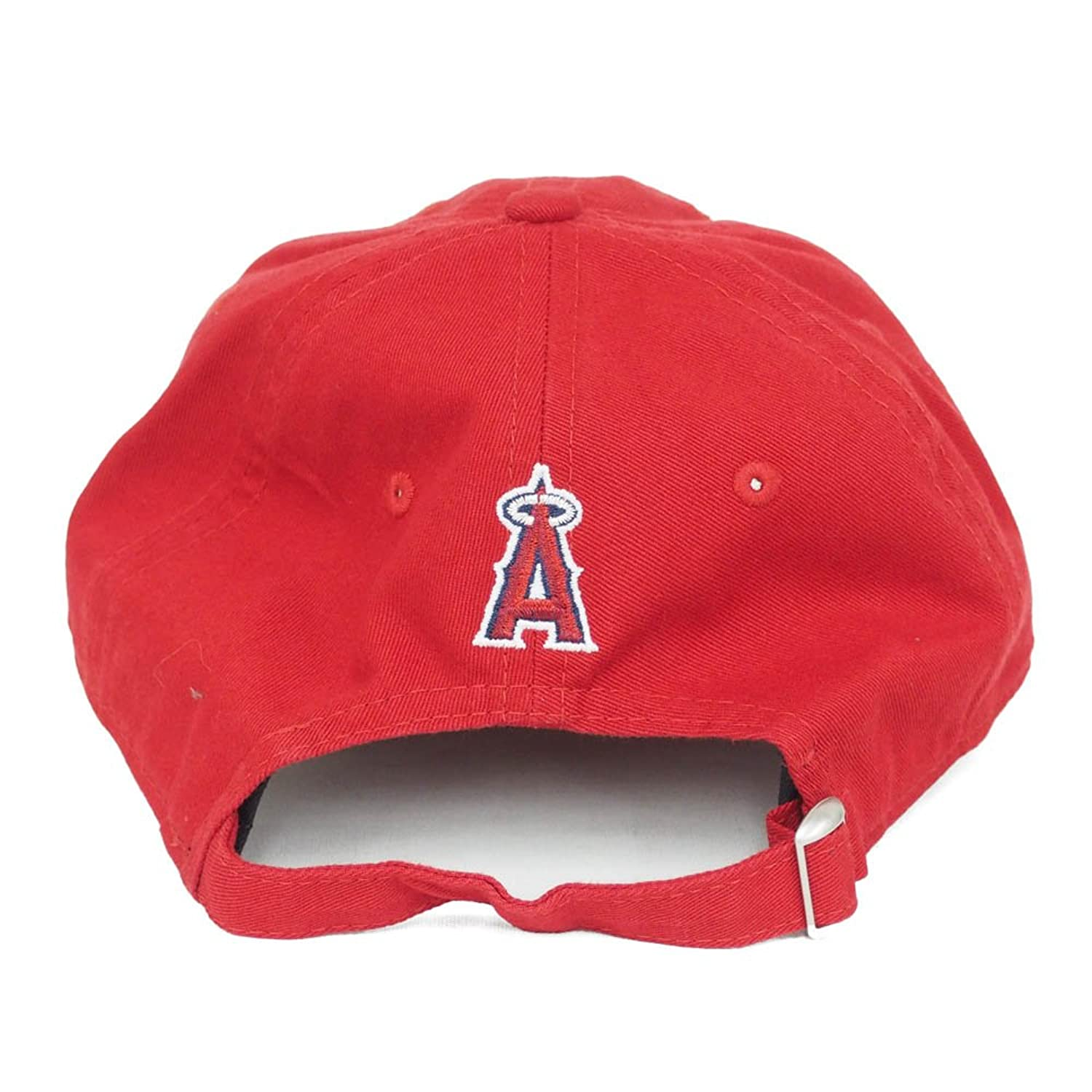 48a481ffb03a73 ... greece new era authentic angels shohei ohtani 9twenty adjustable hat  red at amazon mens clothing store
