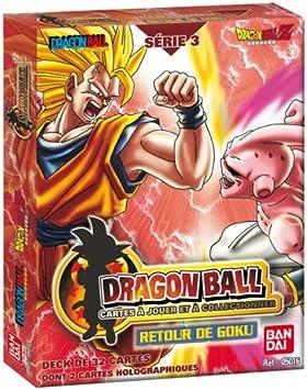 BANDAI – Cartas o coleccionables – Dragon Ball Z – Starter Serie 3 Display – Retorno del Goku: Amazon.es: Juguetes y juegos