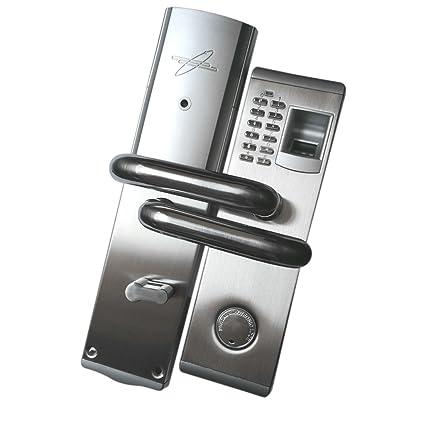 D DOLITY Cerradura de Puerta con Huella Digital Biométrica Identificación de Huellas Dactilares - Izquierda hacia