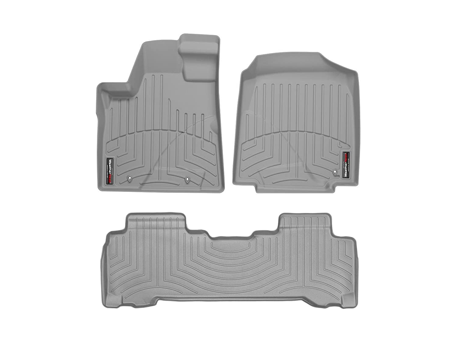 Weathertech floor mats honda pilot 2006 - Amazon Com 2006 2008 Honda Pilot Grey Weathertech Floor Liner Full Set Automotive