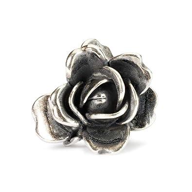 Abalorio de plata con perla Trollbeads 51743