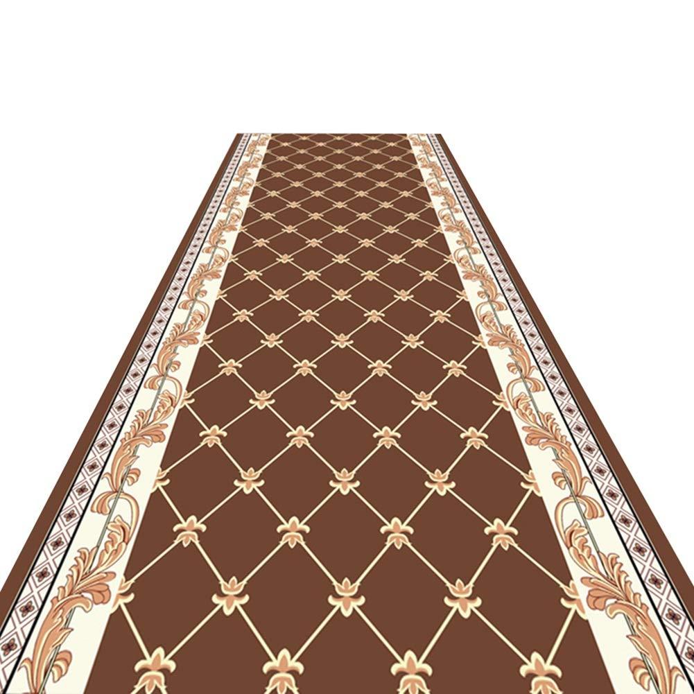 HAIPENG 廊下のカーペット柔らかい ランナー ラグ 滑り止め 廊下 カーペット エリアラグ エントランス マット 洗える にとって キッチン そして 入り口 現代の (色 : A, サイズ さいず : 1.6x7m) 1.6x7m A B07MTD6BP3