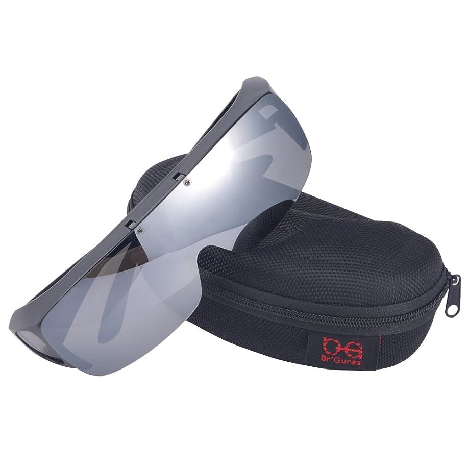 フロントメカニック優しいPAERDE サングラス メンズ 偏光レンズ 運転 軽量 UVカット 紫外線カット 釣り スポーツ テニス