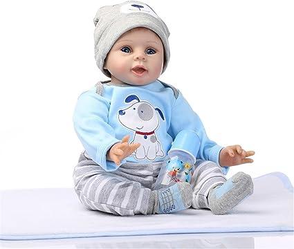 "20/"" Nicery Handmade Lifelike Reborn Baby Doll Soft Silicone Girl Toy Hot"