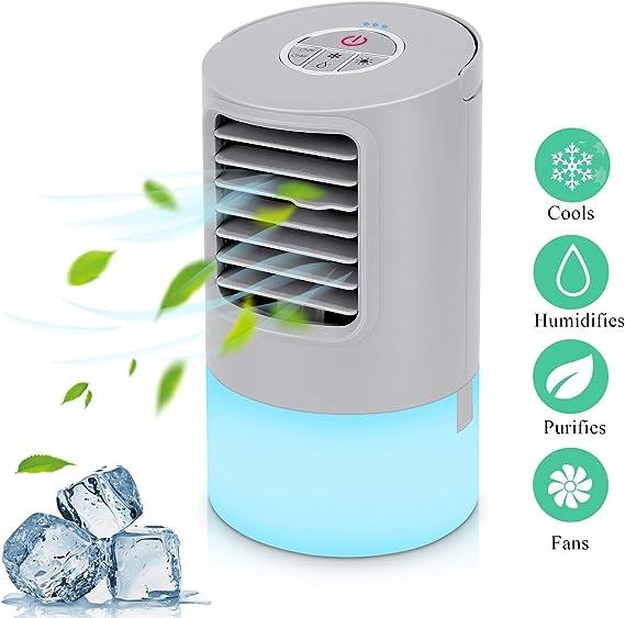Aire Acondicionado Portátil Refrigeracion Mini Enfriador De Aire ...