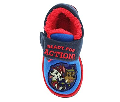 5a52fc0859e2 Paw Patrol Boys Light Up Slippers  Amazon.co.uk  Shoes   Bags