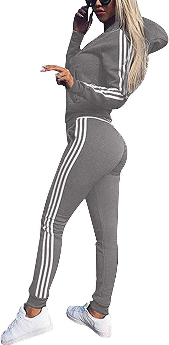 Udaderas Mujer Pantalones + Tops Conjunto de Chándal de Mujer ...