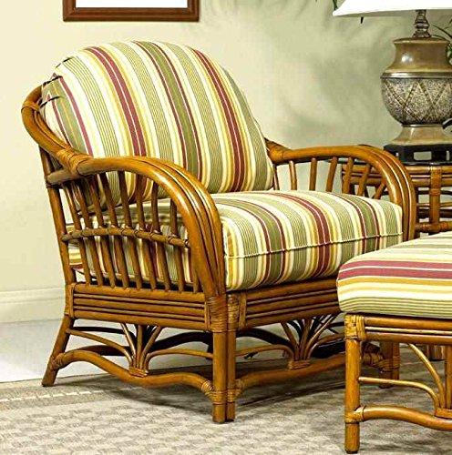Antigua Rattan Arm Chair in Royal Oak (Antigua Rattan Chair)