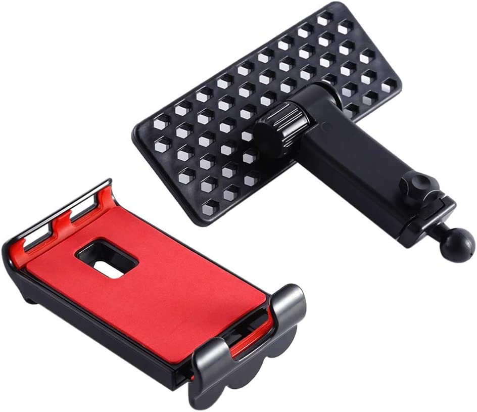 Color : Red MEETBM ZIMO,360 Degrees Rotatable Foldable Phone//Tablet Holder for DJI Mavic Pro Transmitter Red Suitable for 4-12 inch Smartphone//Tablet