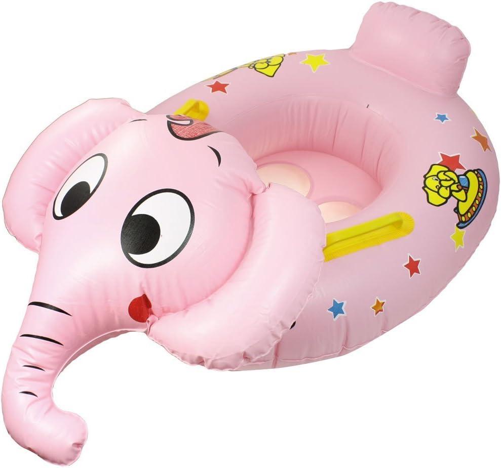 Niño del bebé elefante en forma inflable de natación Asiento Barco ...