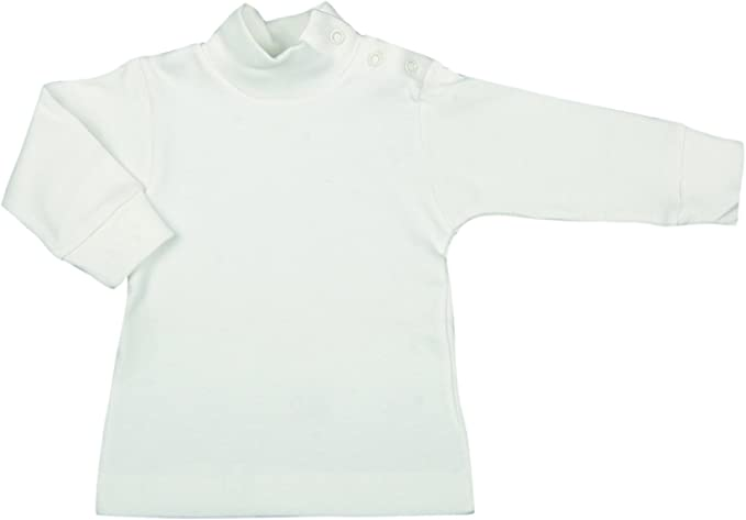 BabyVip - Body Polo Cuello Alto para niño y niña, Estilo básico ...