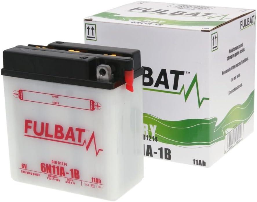 Fulbat Motorrad Batterie 6n11a 1b 6v 11ah Akku S Auto