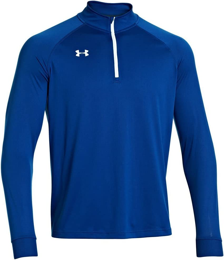 Under Armour Team Rival Tech éclair 1/4 de Golf pour Homme Top