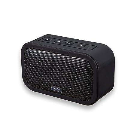 SHIDU T2 portátil Bluetooth 4,0 altavoz, con sensible Touch Control y micrófono integrado