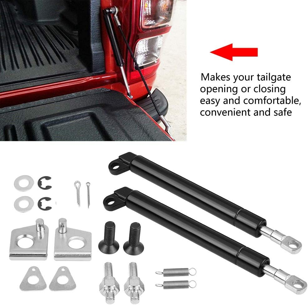 SANON Rear Tailgate Hood Gas Struts Lift Spring Support Lifters for BT-50 PX Ranger