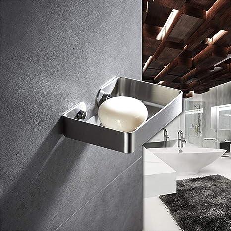 Amazon.com: Dreamseeker Stainless Steel soap Dish, Bathroom ... on