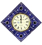 Nagina International Handmade Contemporary Beautifully Crafted Genuine Premium Wall Decor & Functional Time's Clock with Vintage Roman Dial Face | Premium Handcrafted Gifts & Decor For Sale