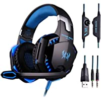 G2000 Gaming Headset Deep Bass Computer Game Headphones With Microphone Led Light For Computer Pc Gamer By Kotion Each…